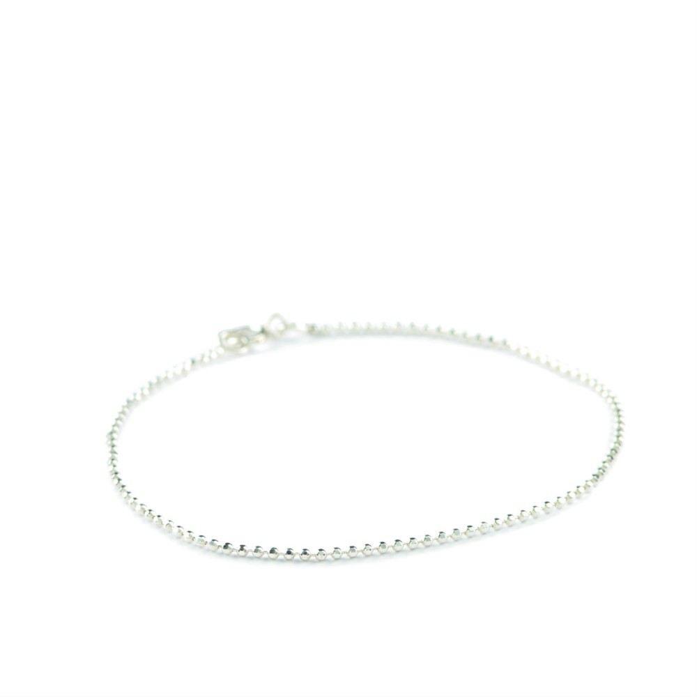 Facet Plain Bracelet Sølv-35