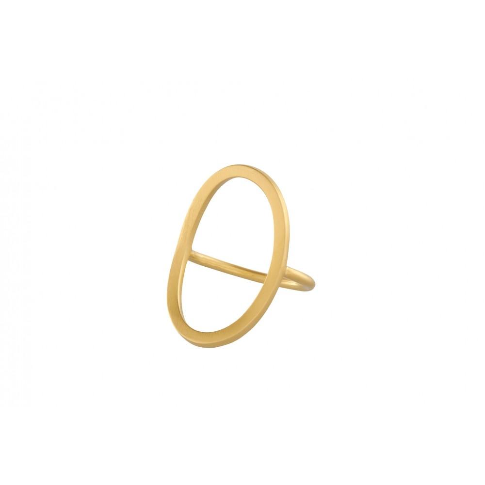 Pernille Corydon Berlin ring forgyldt str. 55-31