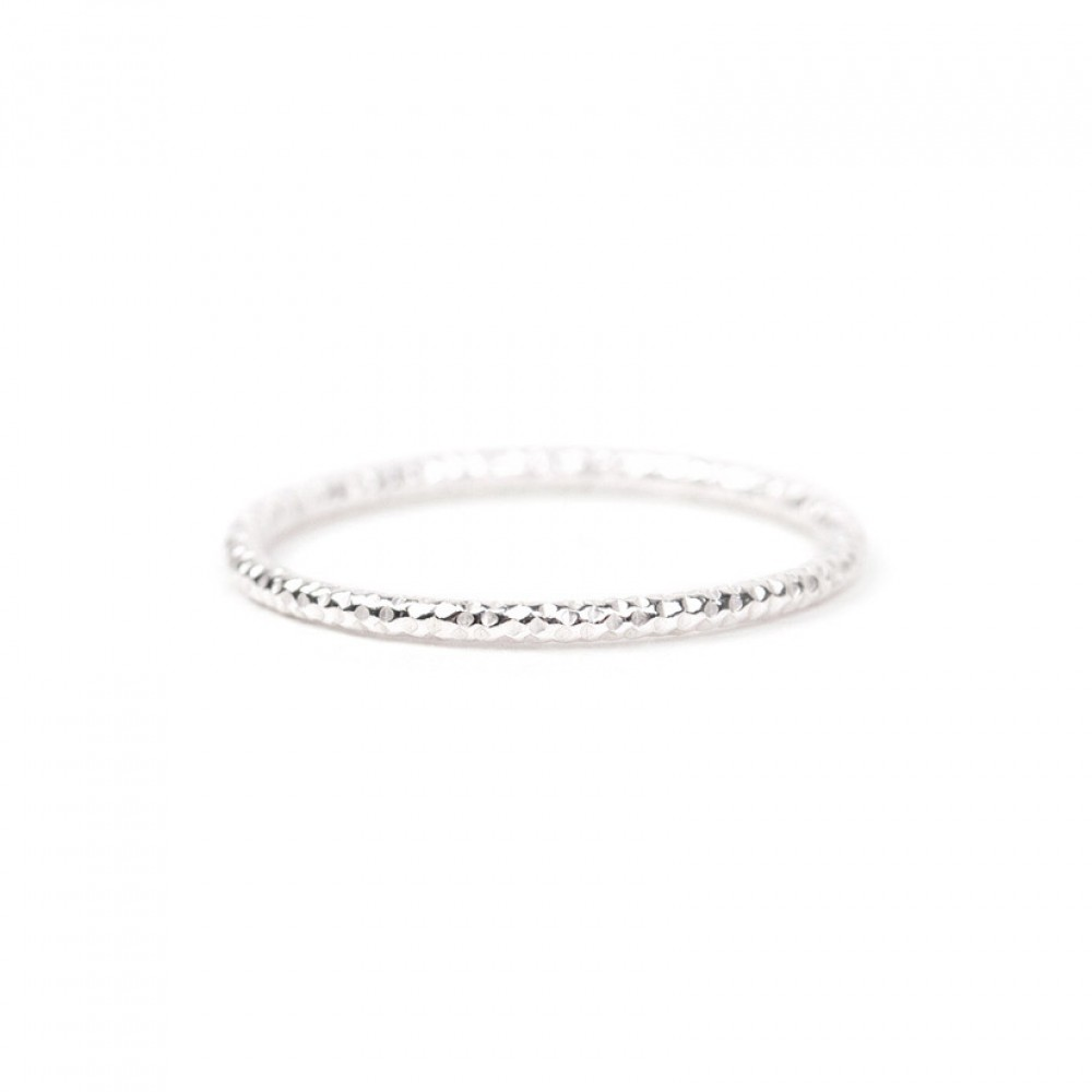 Sparkling Ring Silver-L-31