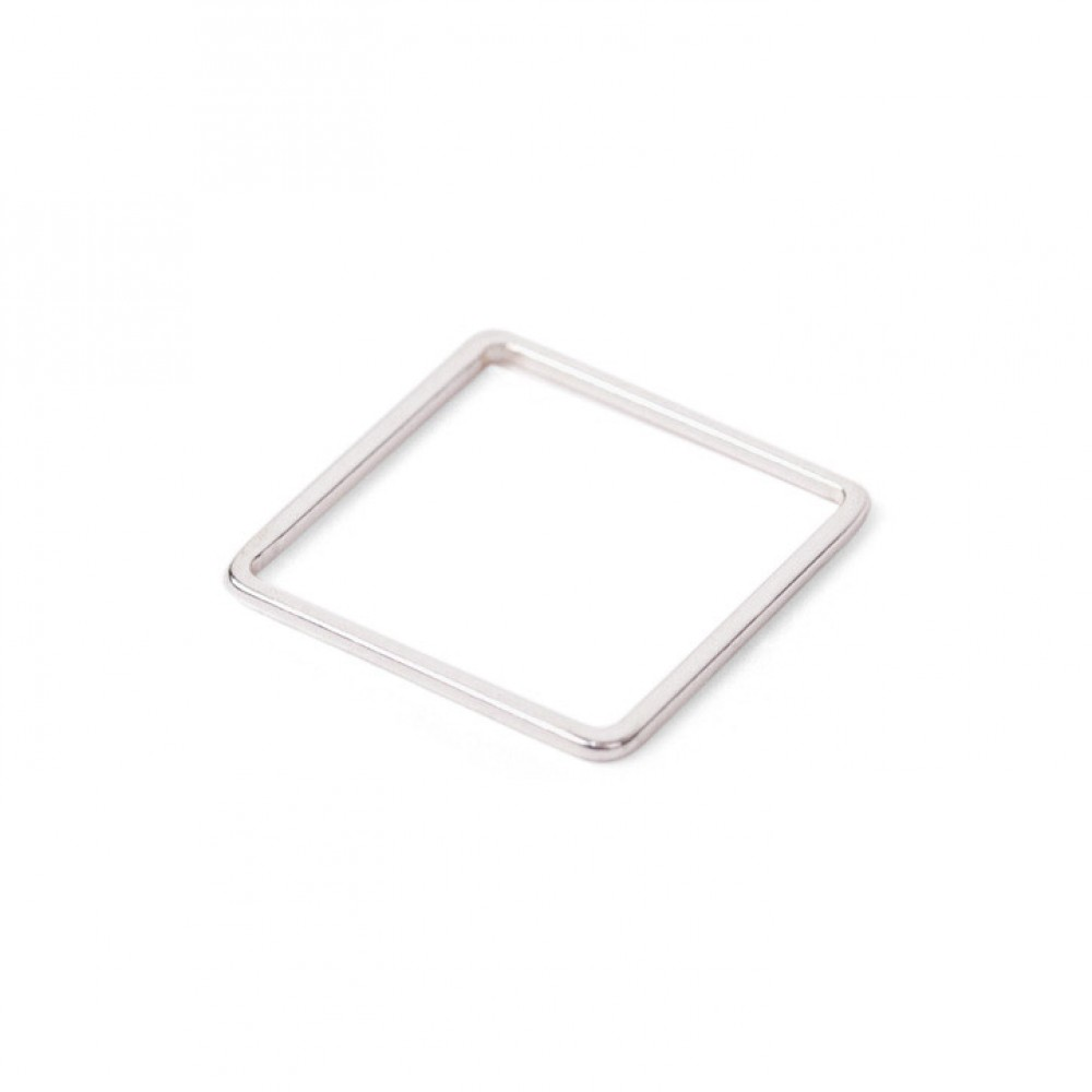 Jukserei Square Ring Silver-33