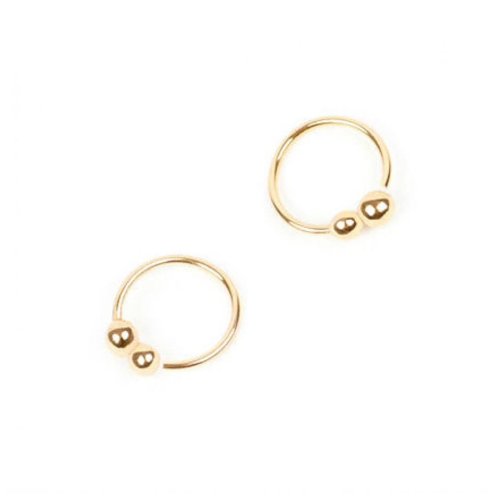 Twist Earring Pollen Gold-35