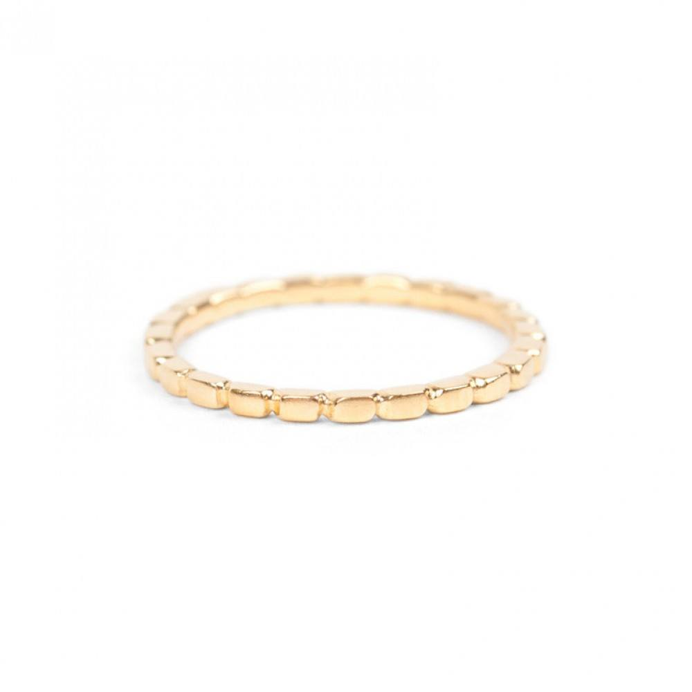 Jukserei Notch Ring Gold-33