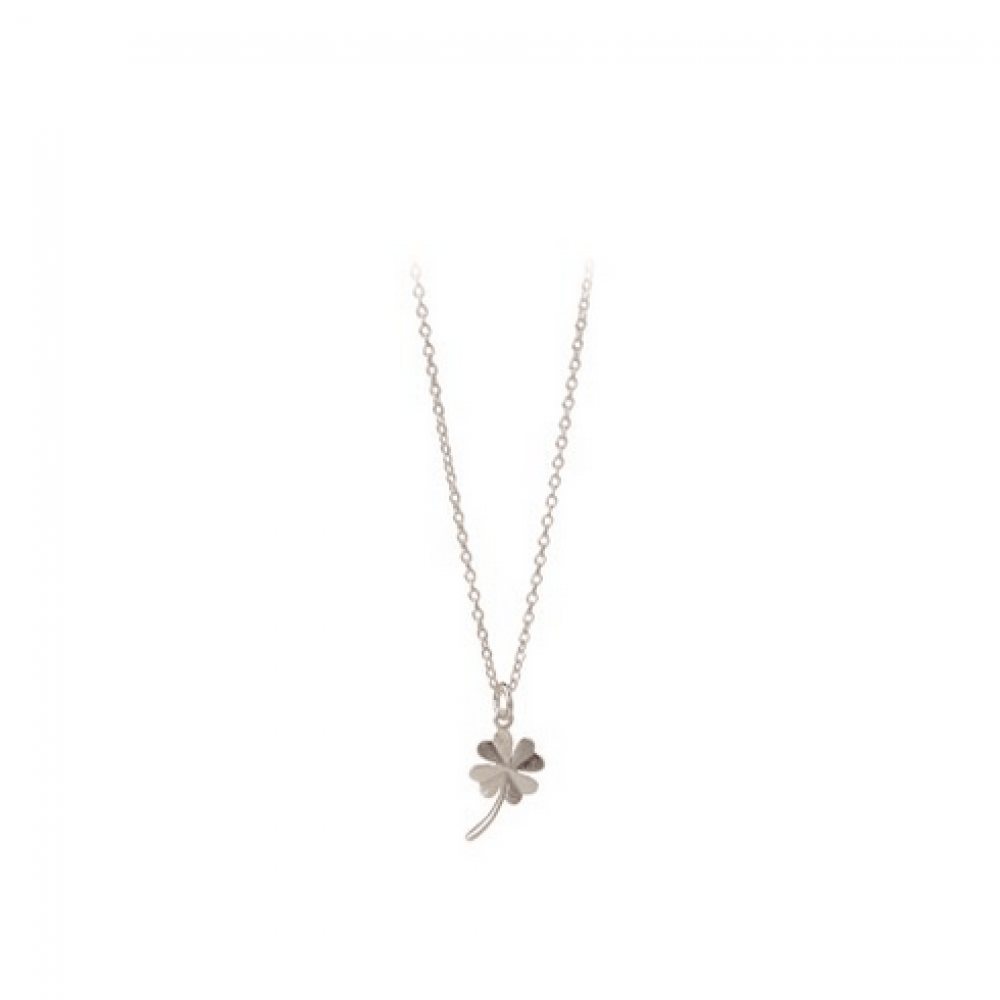 Pernille Corydon Clover Necklace Sølv-31