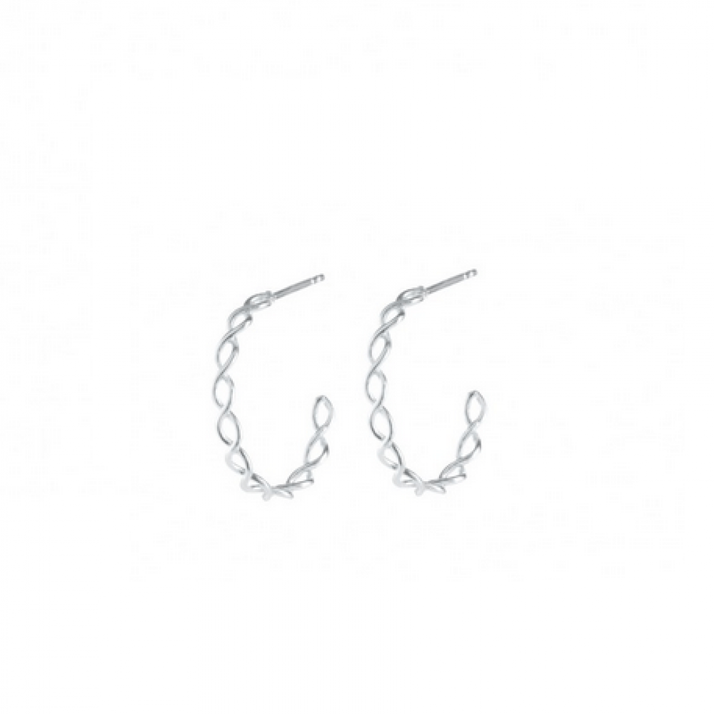 Pernille Corydon Entangled Creol Sølv-31