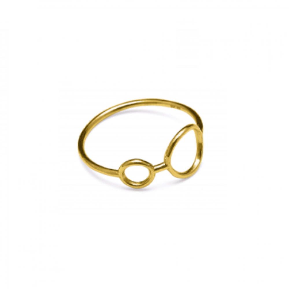 Louise Kragh HangAround Ring Guld-33