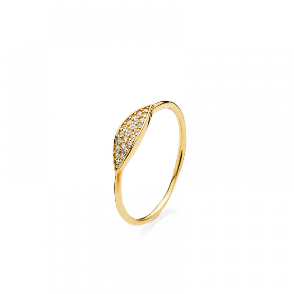 Izabel Camille Hollywood Ring Forgyldt-33
