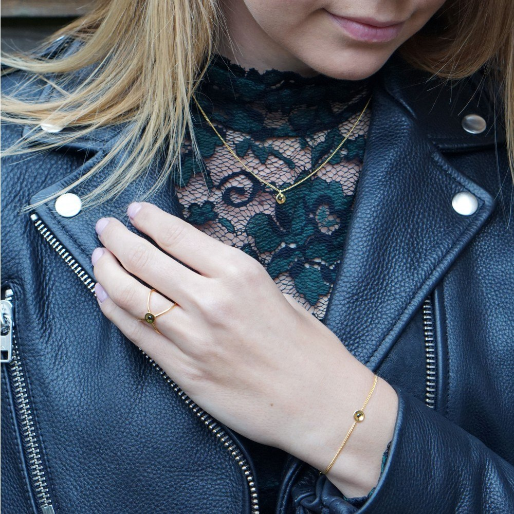 Louise Kragh Embrace Armbånd Forgyldt-31