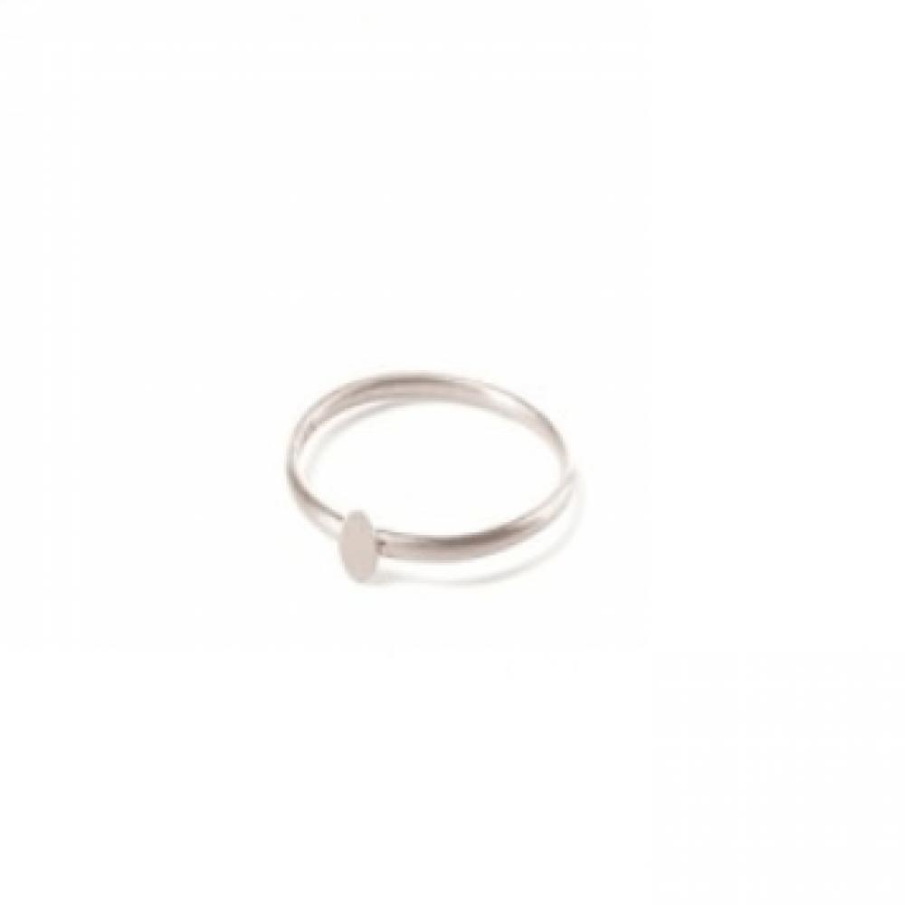 Pernille Corydon Micro Coin Ring Sølv-33