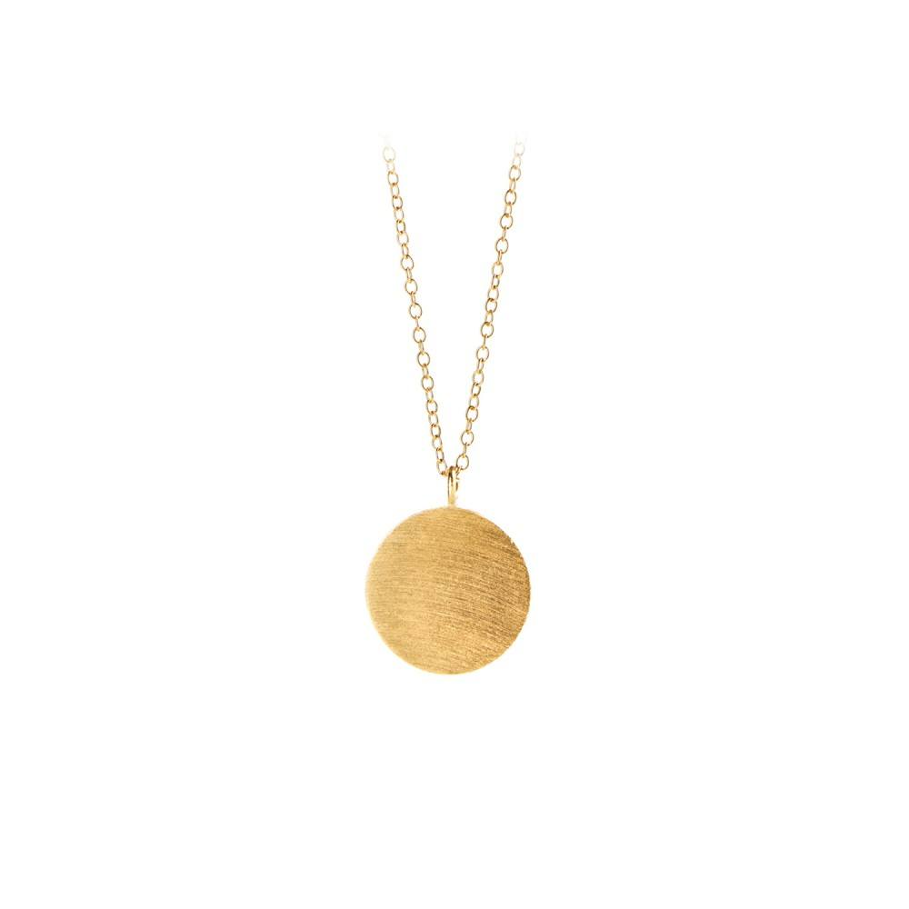 Coin Necklace Forgyldt-35