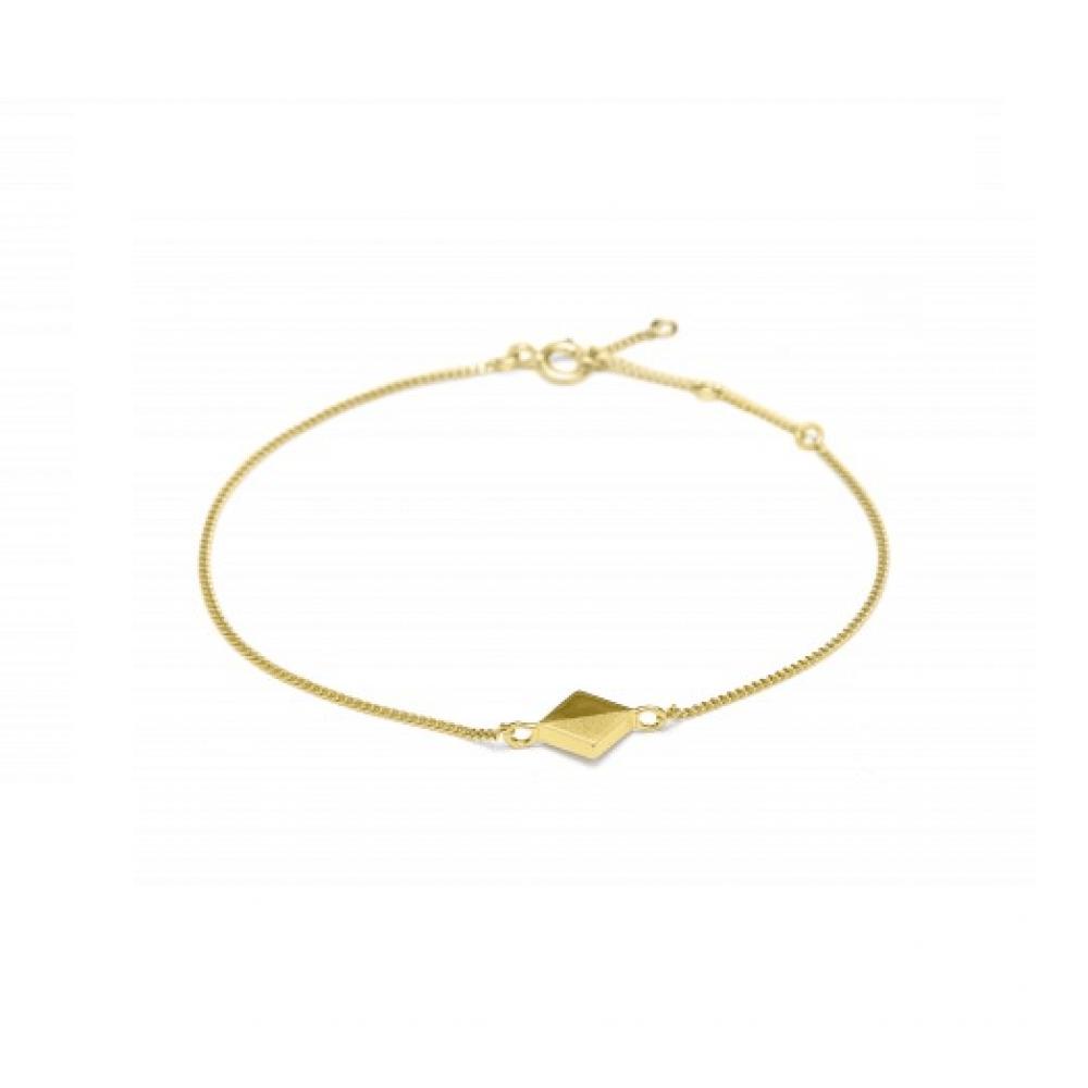 Louise Kragh Pixel Bracelet Forgyldt-31