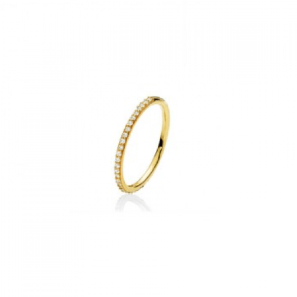Izabel Camille Promise Small Ring Guld-33