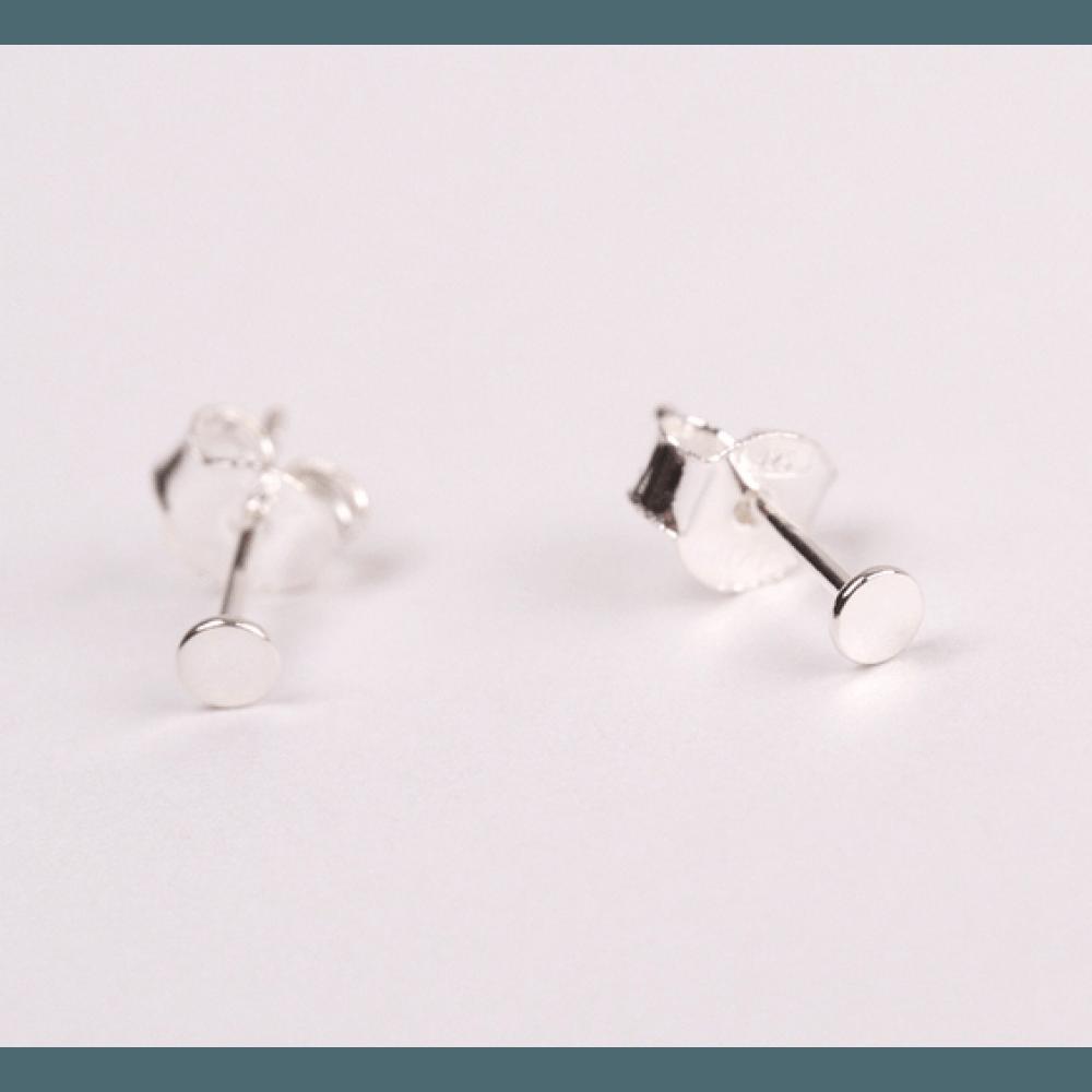 Jukserei Punkt Ear Stud Silver-31