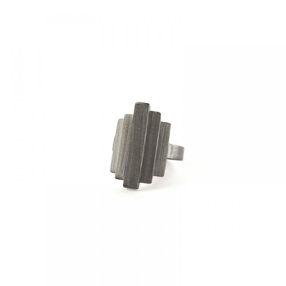 Pernille Corydon Brick Ring Sort-33