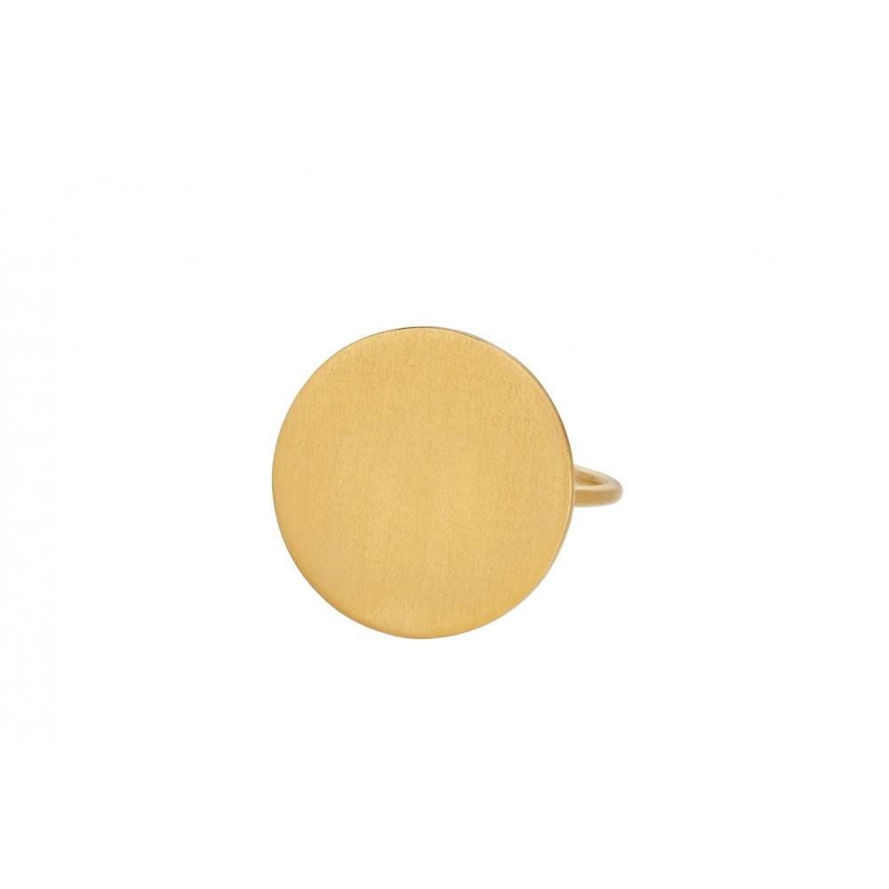 Pernille Corydon Essence ring forgyldt str. 52-31