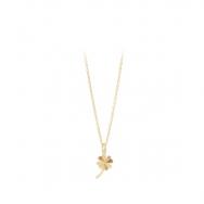 Clover Necklace Forgyldt-20