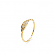 Izabel Camille Hollywood Ring Forgyldt-20
