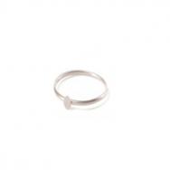 Micro Coin Ring Sølv-20
