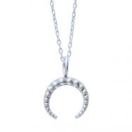 Queen Zingi Halskæde 50 cm sølv-20