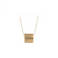 Pernille Corydon Stripe Necklace Forgyldt-20