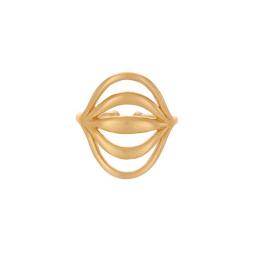 Pernille Corydon Tidal Ring Forgyldt-20