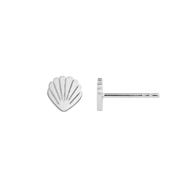 Petit Shell Earring Silver-20