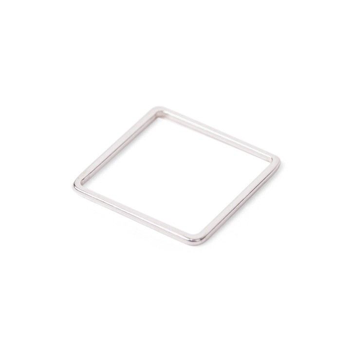 Square Ring Silver-20