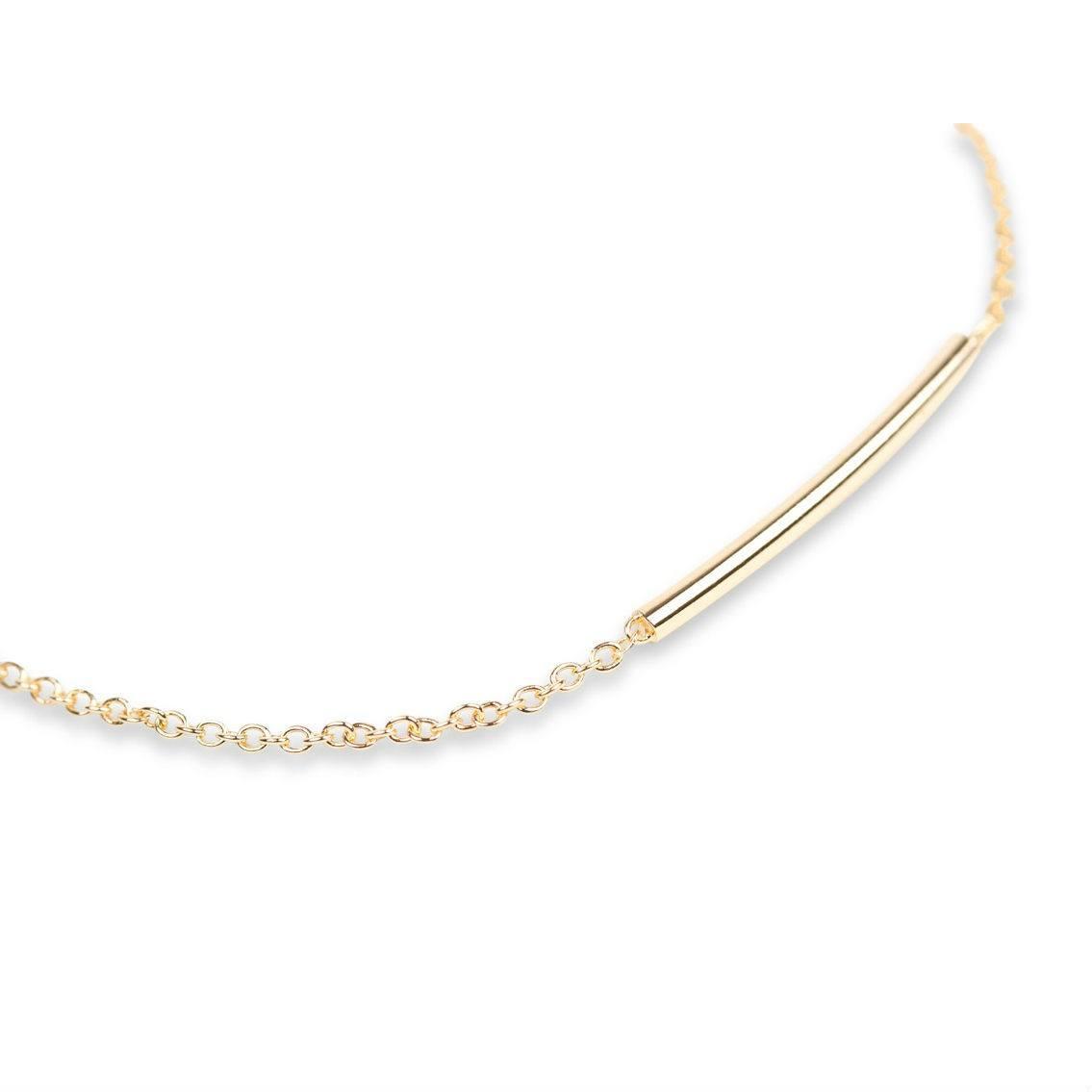 Pipe Bracelet Gold-20