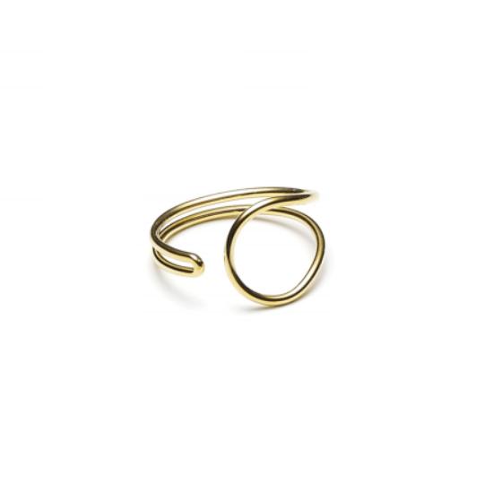 Enamel Ring Guld-20