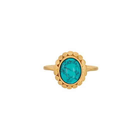 Esther Ring Forgyldt-20