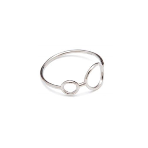 Hangaround Ring Sølv-20