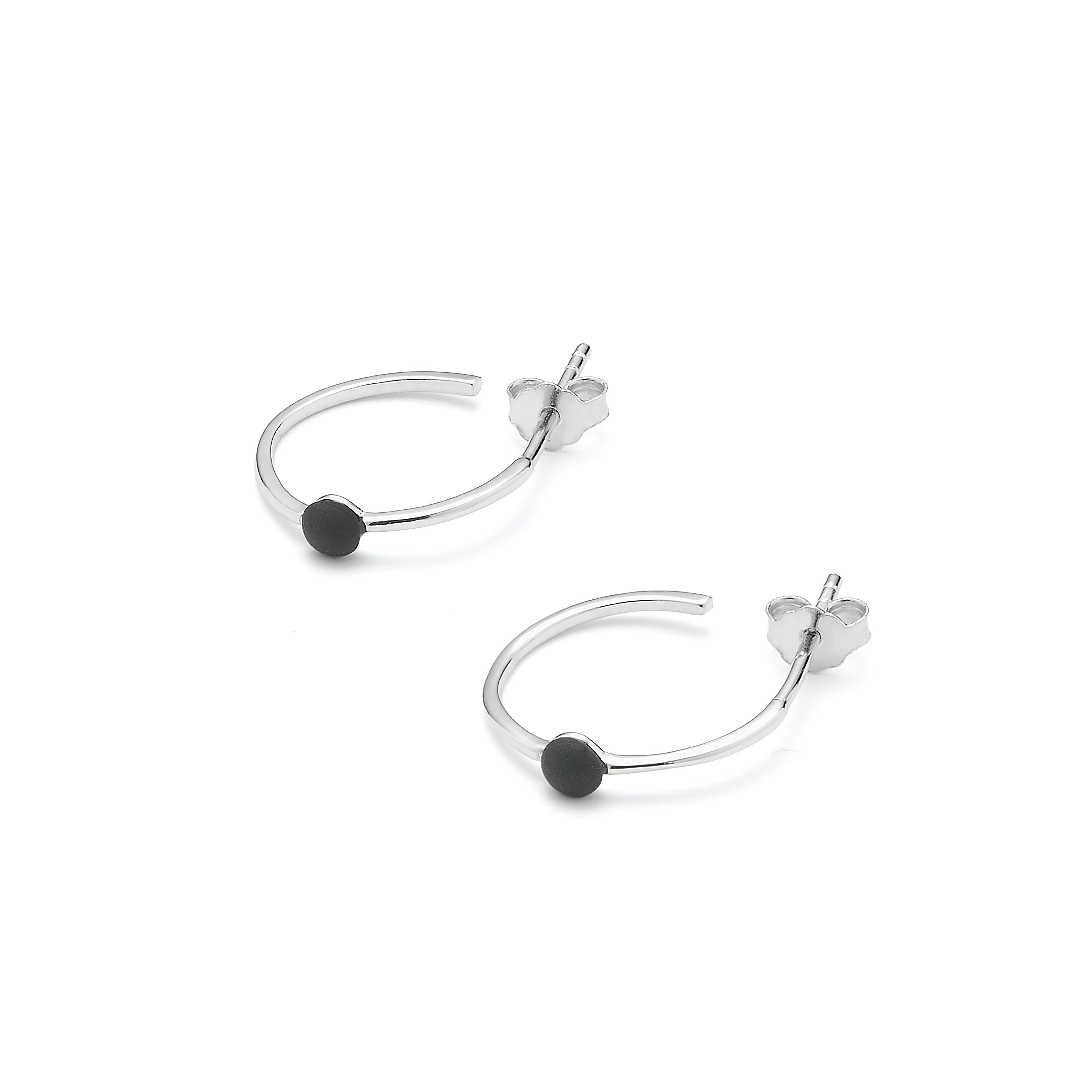 Microdot Creol Earring Sølv-20