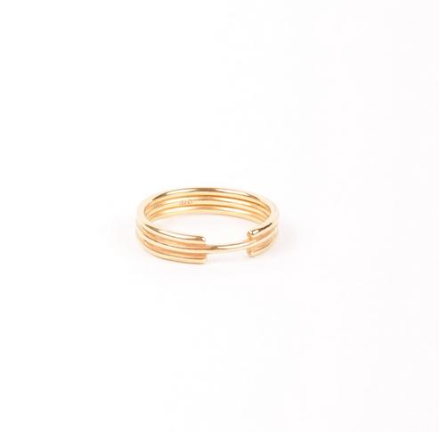 Oslo Ring Forgyldt-20
