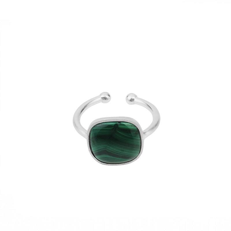 Melachite Ring Sølv-20
