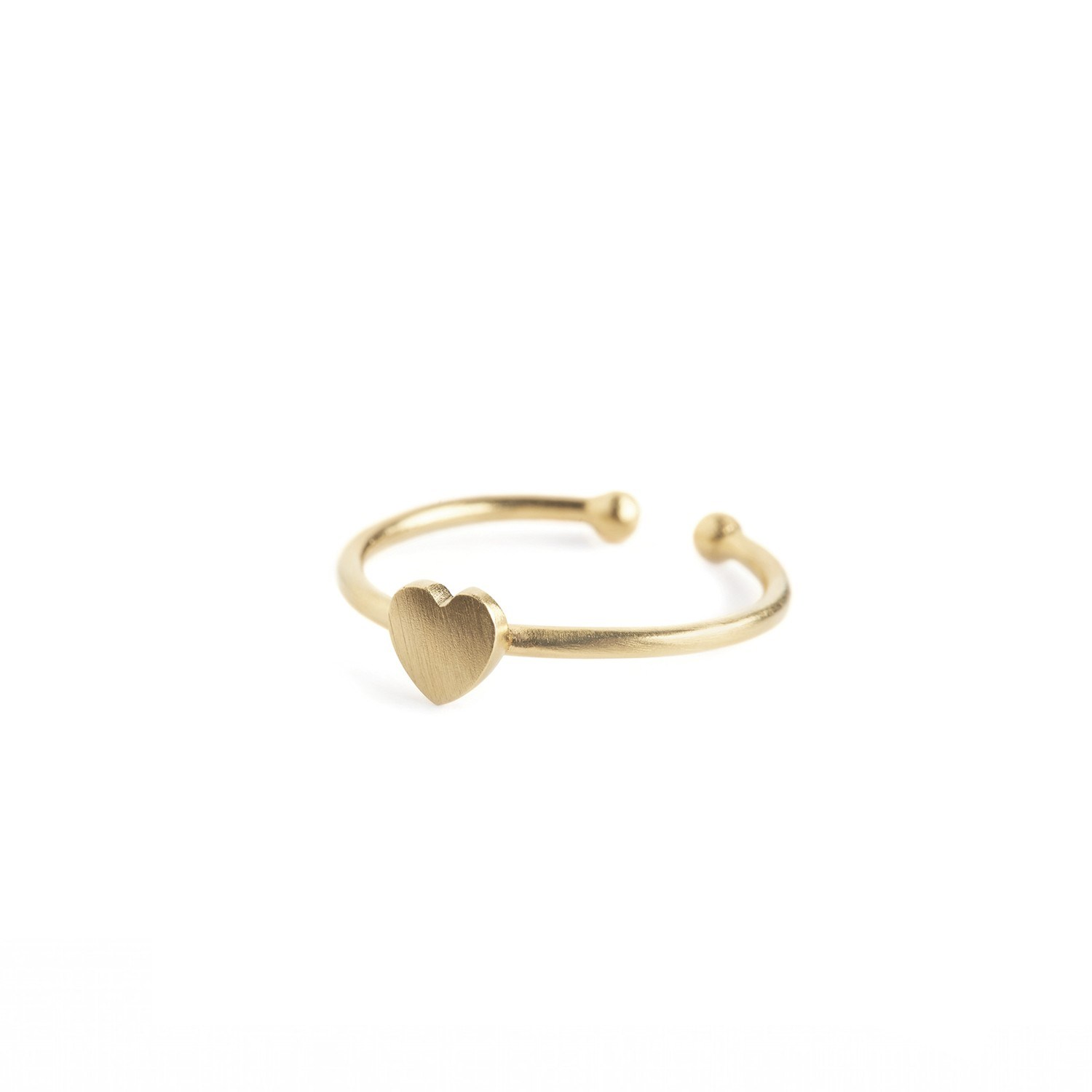Heart Ring Forgyldt-20