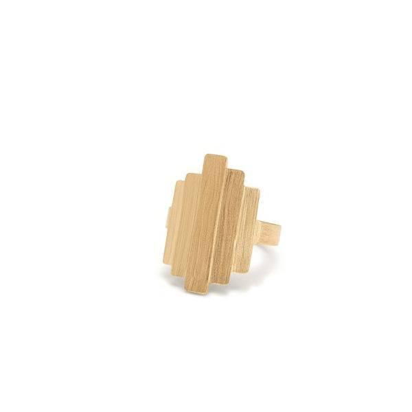 Brick Ring Guld-20