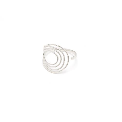 Spiral 0402 Ring Sølv-20