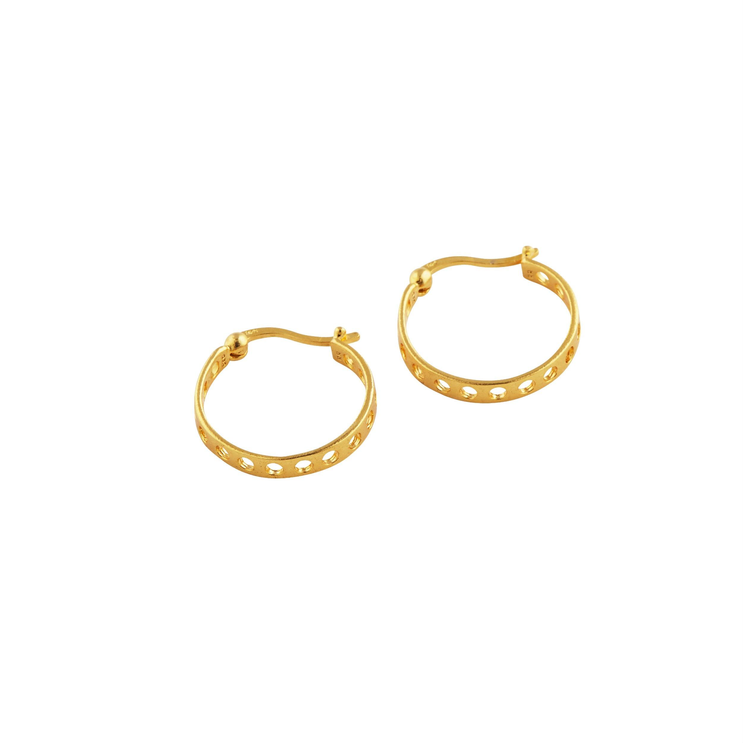 Brenda Earrings Forgyldt-20