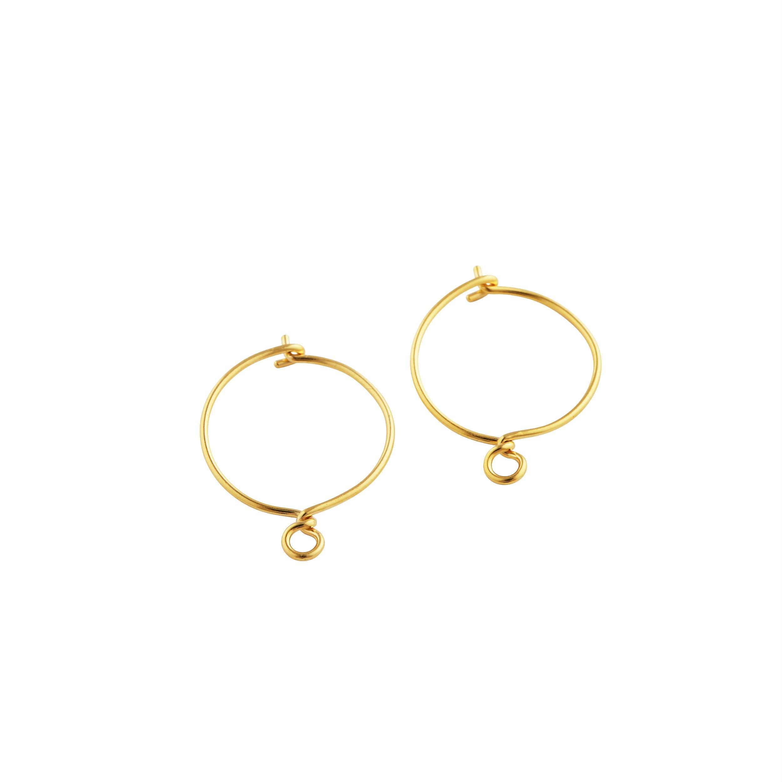 Dianna Earrings Forgyldt-20