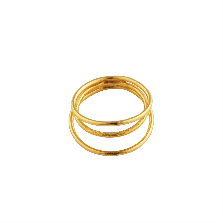 Sasha Ring Forgyldt-20