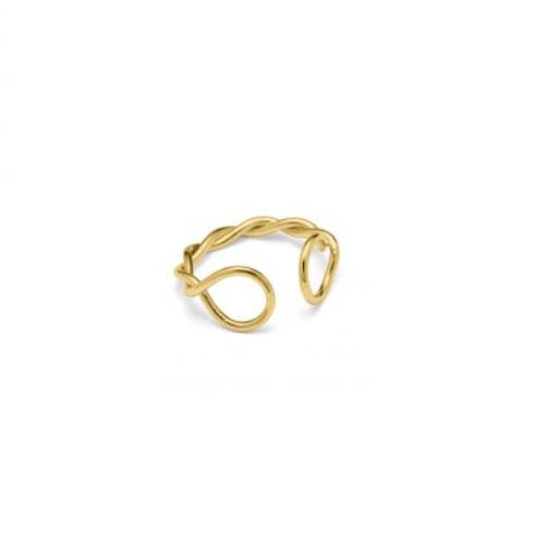 Twist Ring Guld-20