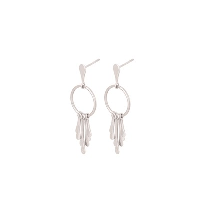 Waterfall Earrings Sølv-20