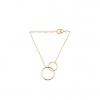 Pernille Corydon Double Plain Bracelet Forgyldt-10