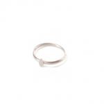Micro Coin Ring Sølv-10