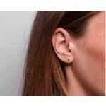 X Ear Stud Silver-03